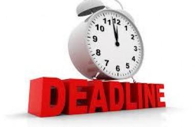 Waspada dengan Deadline Hidupmu!