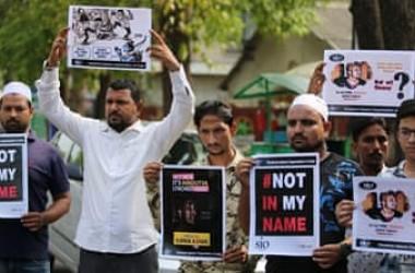 Aksi Protes Digelar di Berbagai Kota di India Setelah Tewasnya Seorang Muslim