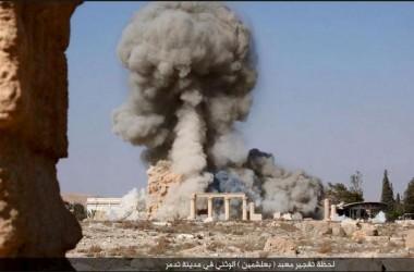 Islamic State (IS) Kembali Hancurkan Bagian Kota Kuno Palmyra