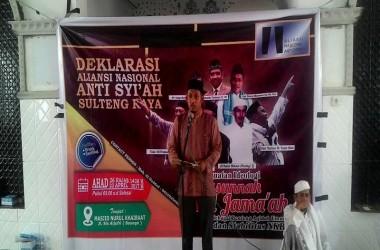 ANNAS Sulawesi Tengah Raya Siap Amar Ma'ruf Nahi Munkar Hadapi Penyebaran Syiah