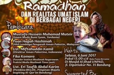 Hadirilah! Talkshow Internasional Bersama Imam dari Bumi Syam di Bandung