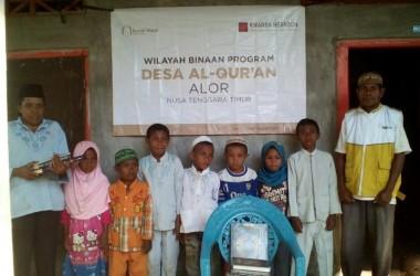 RWI Bangun Desa Binaan untuk Berantas Buta Al Quran