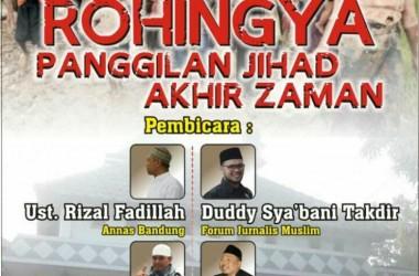 Hadirilah! Tabligh 'Rohingya Panggilan Jihad Akhir Zaman' di Bandung