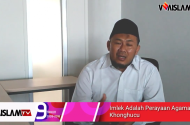 [VIDEO] Muslim Ikut Perayaan Imlek, Bagaimana Hukumnya?