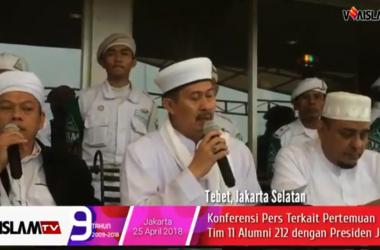 [VIDEO] Tim 11 Ulama Alumni 212 Ungkap Hasil Pertemuan Tertutup dengan Jokowi