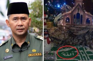 Tegas! Wali Kota Jambi Tutup Hotel yang Nistakan Lafaz Allah pada Pohon Natal