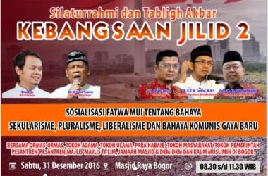 GNPF MUI Bogor akan Gelar Tabligh Akbar Kebangsaan Jilid II