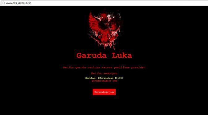 Hacker Garudaluka Justru Mereka Sendiri Yang Hina Lambang Negara