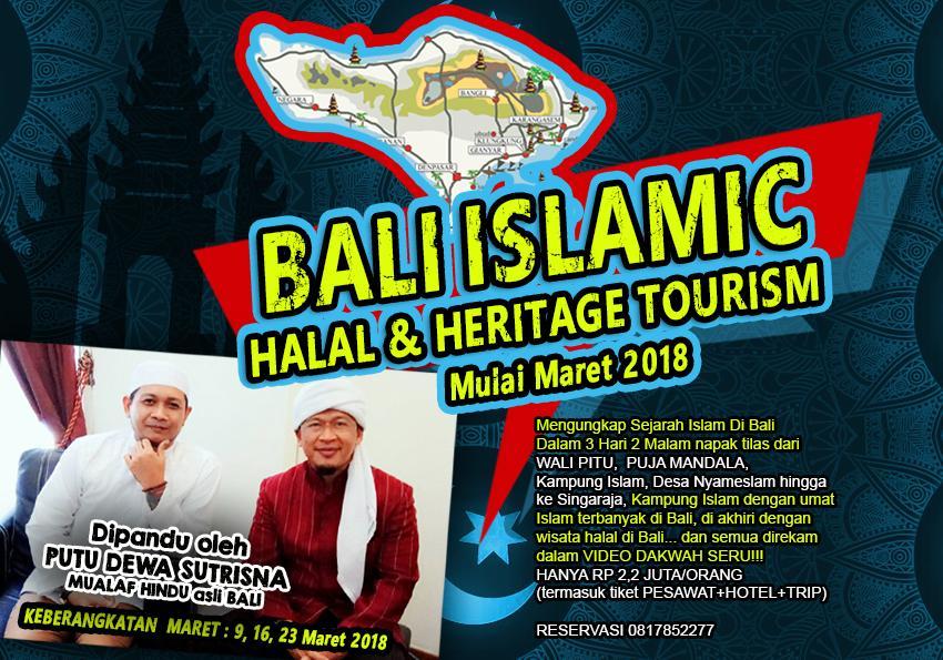 Sisa 6 Lagi Bali Islamic Halal Heritage Tour Dipandu Dewa