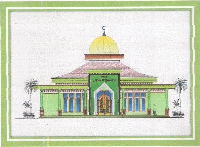 Inilah Penolakan Salibis Atas Pembangunan Masjid Nur Musafir Di