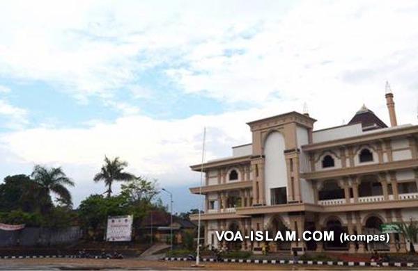 Provokatif Natalan Akan Digelar Di Lapangan Masjid Agung Ungaran