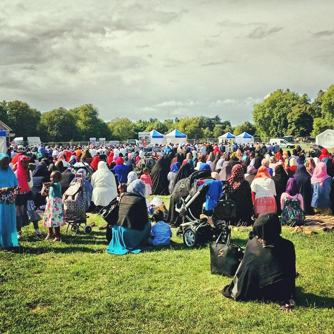 [Foto] Sahabat Voa-Islam Di London Yang Merayakan Idul