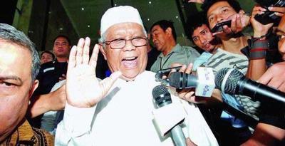 Ketua Majelis Syuro PKS Hilmi Aminuddin Mengakui Pertemuan