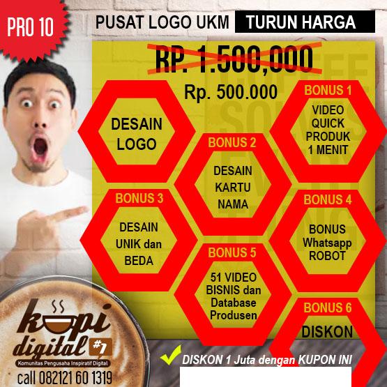 Kopidigital 5 Desain Logo Diskon 1 Juta Bonus Video Iklan
