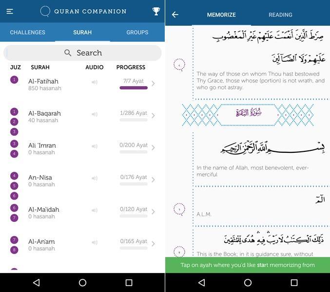 Ini Dia Aplikasi Smartphone untuk Menghafal Al-Quran