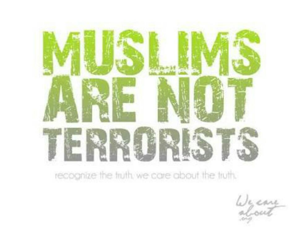 Not all muslims are terrorists essay help