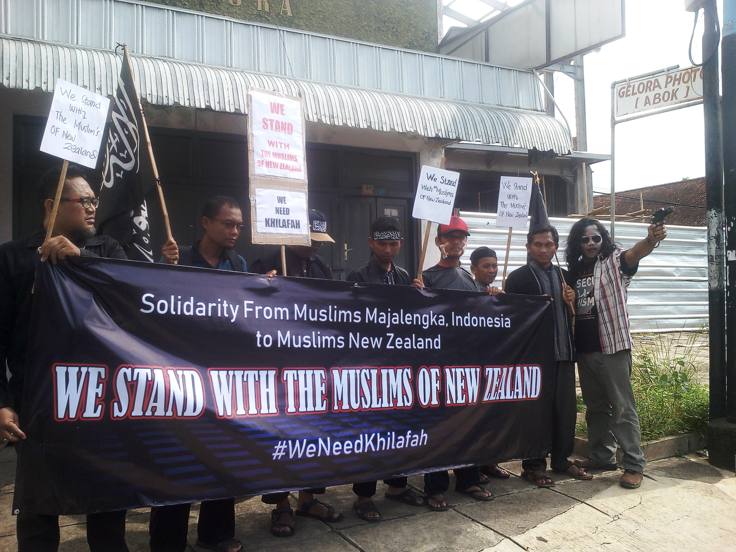Muslim Selandia Baru Image: Solidaritas Muslim Majalengka Untuk Muslim Selandia Baru